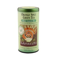 The Republic of Tea Orange Spice Daily Green Tea