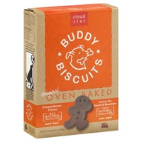 Buddy Biscuits Cloud Star Buddy Biscuits Peanut Butter Dog Treats