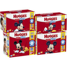 HUGGIES Snug & Dry ULTRA Diapers Giant Pack Size 6