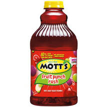 Mott's Fruit Punch Rush Juice Drink