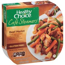 Healthy Choice Cafe Steamers Beef Merlot