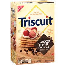 Triscuit Cracked Pepper & Olive Oil