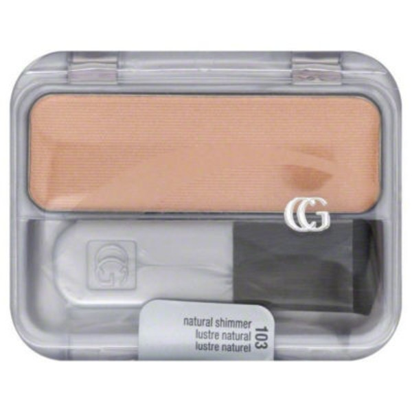 CoverGirl Cheekers COVERGIRL Cheekers Blendable Powder Blush, Natural Shimmer .12 oz (3 g) Female Cosmetics