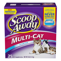 Scoop Away Cat Litter Multi-Cat Scented
