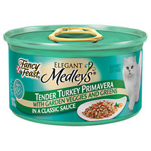 Fancy Feast Wet Cat Food Elegant Medleys Tender Turkey Primavera