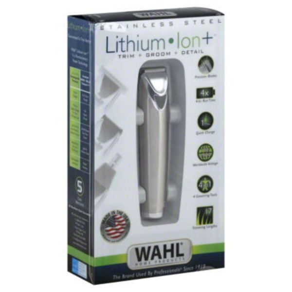 Wahl Stainless Steel Lithium Ion Groomer