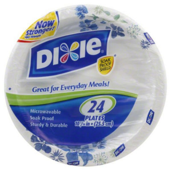 Dixie Everyday Paper Plates - 26 CT