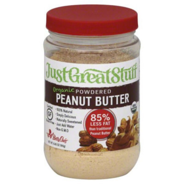 Just Great Stuff Powdered Organic Peanut Butter The Original