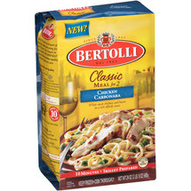 Bertolli Classic Meal for 2 Chicken Carbonara