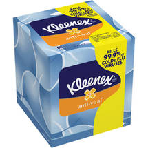 Kleenex Anti-Viral Facial Tissues