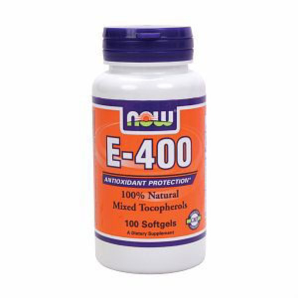 Now E-400 Mixed Tocopherols Softgels