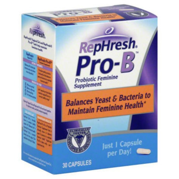 RepHresh Pro-B Capsule Probiotic Feminine Supplement
