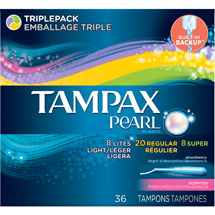 Tampax Tampons Regular Unscented