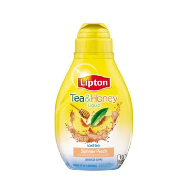 Lipton Summer Peach Liquid Iced Tea Mix