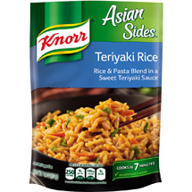 Knorr Teriyaki Rice Asian Sides