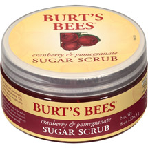 Burt's Bees Cranberry and Pomegranate Sugar Scrub