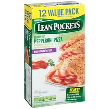 Lean Pockets Pepperoni Pizza Sandwiches