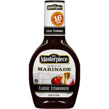 KC Masterpiece Steakhouse Marinade