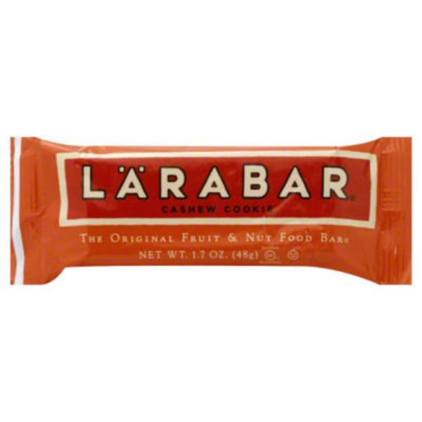 Larabar Cashew Cookie Fruit And Nut Food Bar