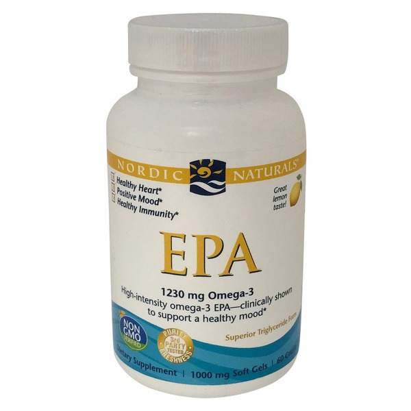 Nordic Naturals EPA 1230 Omega-3 Soft Gels Dietary Supplement