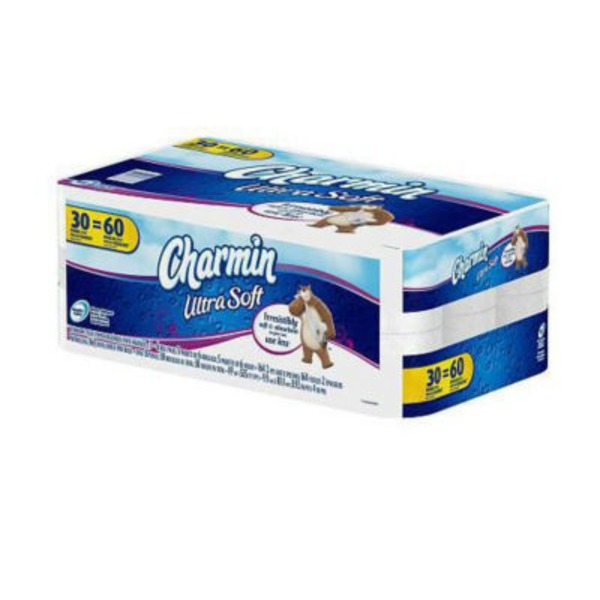 Charmin Ultra Charmin Ultra Soft Toilet Paper 30 Double Rolls Toilet Tissue