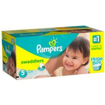 Pampers Swaddlers Diapers Huge Box Size 5