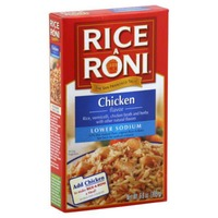 Rice-a-Roni Lower Sodium Chicken Flavor Rice Mix