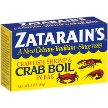Zatarain's In Bag Crawfish Shrimp & Crab Boil