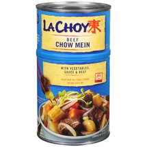 La Choy Beef Chow Mein With Vegetables And Sauce Bi-Pack Dinner