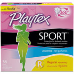 Playtex Sport Regular Unscented Tampons
