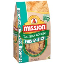Mission Fiesta Size Restaurant Style Tortilla Rounds