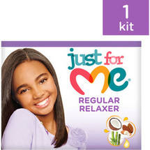 Just For Me No-Lye Regular Conditioning Creme Relaxer Kit