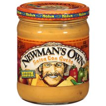 Newman's Own All Natural Medium Salsa Con Queso