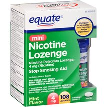 Equate Mini Lozenges Mint 4mg