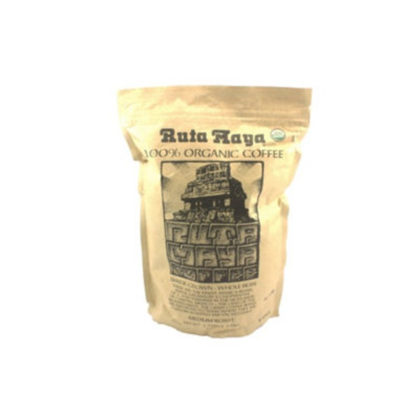 Ruta Maya Medium Roast Whole Bean Organic Coffee