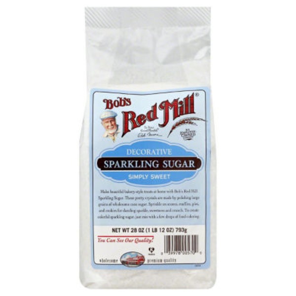 Bob's Red Mill Sugar, Sparkling, Decorative