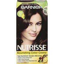 Garnier Nutrisse Haircolor 43 Dark Golden Brown Cocoa Bean