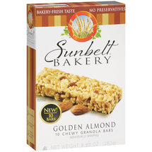 Sunbelt Bakery Golden Almond Chewy Granola Bars