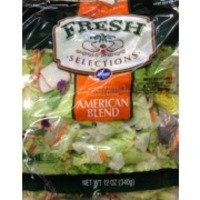 Kroger Fresh Selections American Blend Salad