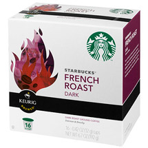 Starbucks K-Cup French Roast Coffee