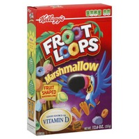 Kellogg's Froot Loops with Fruity Shaped Marshmallows Cereal
