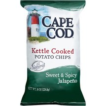 Cape Cod Sweet & Spicy Jalapeno Kettle Cooked Potato Chips
