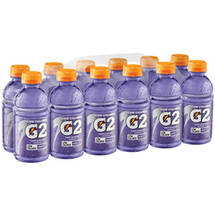 Gatorade G2 Low Calorie Electrolyte Grape Sports Drink 12 Ct/144 Fl Oz