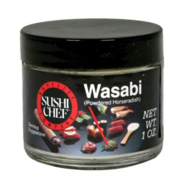 Sushi Chef Wasabi Powdered Horseradish