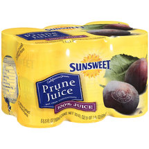 Sunsweet Prune Juice Cans