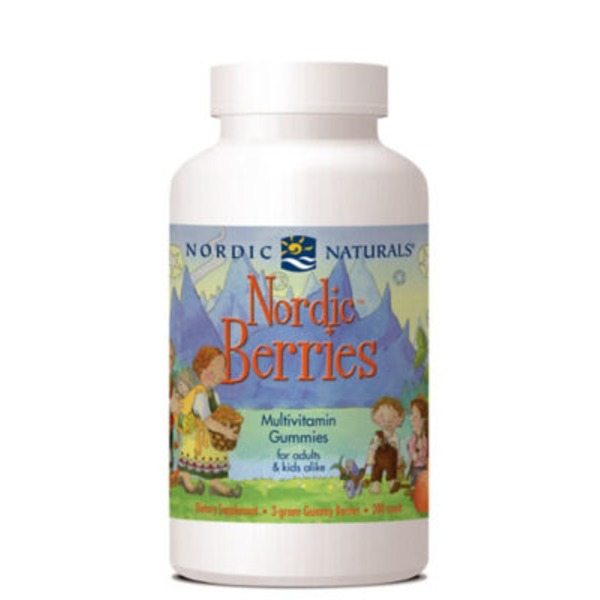 Nordic Naturals Nordic Berries Multivitamin Gummies