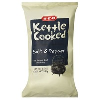 H-E-B Salt & Pepper Kettle Cooked Potato Chips