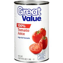 Great Value 100% Tomato Juice