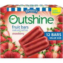 Dreyer's Outshine Strawberry Fruit Bars