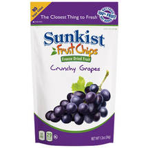 Sunkist Fruit 2.0 Grape Slices Freeze Dried Fruit